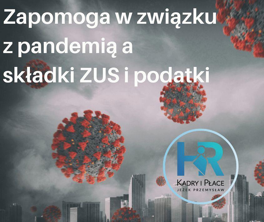 pandemia zapomoga zus podatki