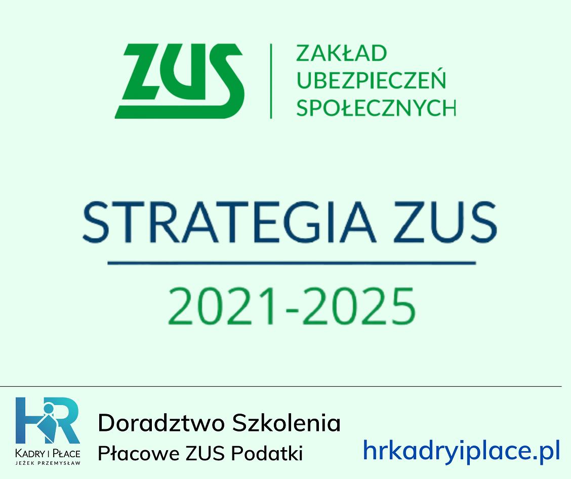 strategia zus 2021 2025